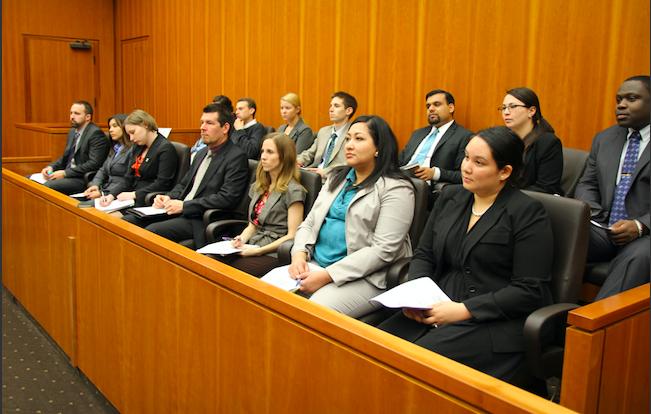 Court of law LA